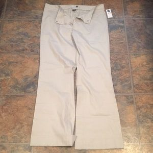 Gap khaki bootcut pants trousers.